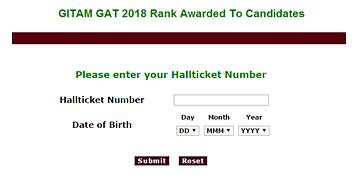 GITAM GAT PGP 2019 Exam: Registration, Syllabus, Answer Key, Results