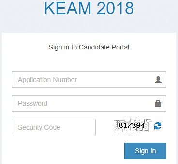 KEAM Results, KEAM 2018 Results