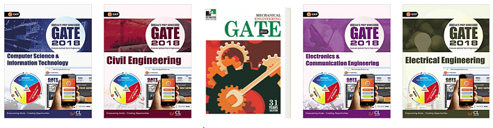 GATE Preparation Books for computer science, GATE Preparation Books for ece,  GATE Preparation Books for civil engineering, GATE Books for mechanical engineering,  GATE Preparation Books for electrical engineering