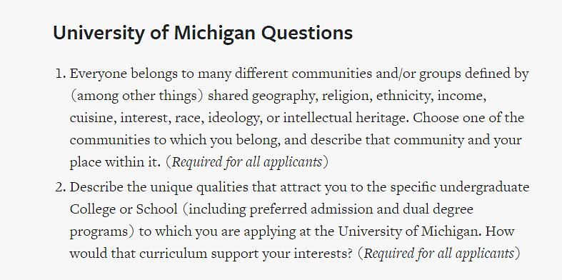 Umich Academic Calendar 2022.University Of Michigan Umich Ann Arbor Admission Criteria Application Deadlines 2021