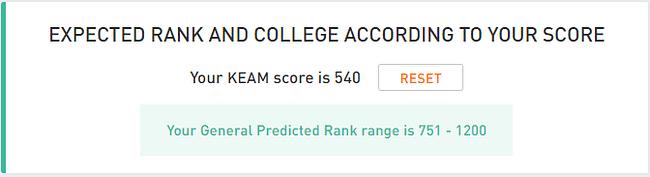 KEAM Rank Predictor