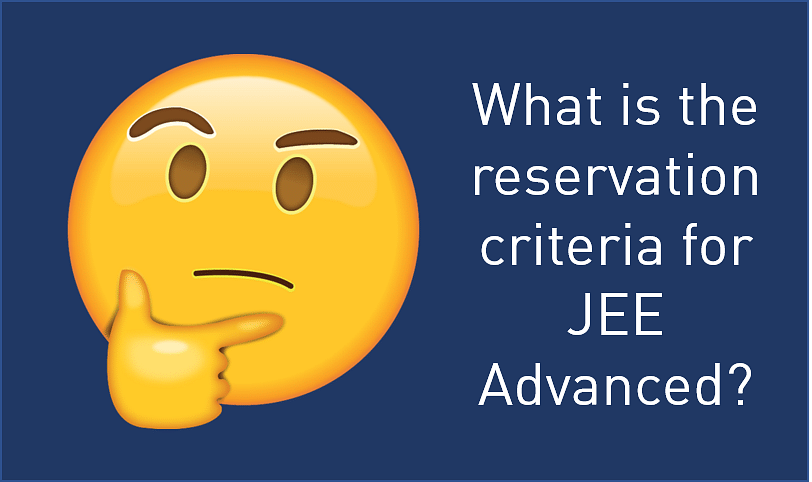 jee advanced reservation