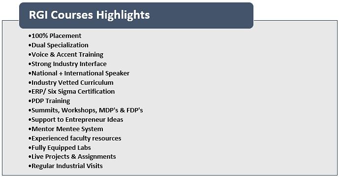 RGI Highlights