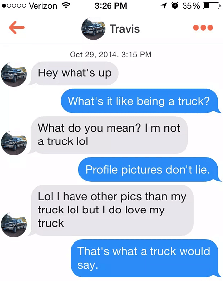 10 Hilarious Tinder Pickup Lines You Won't Believe Actually